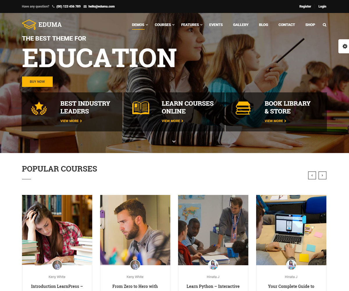 Education theme