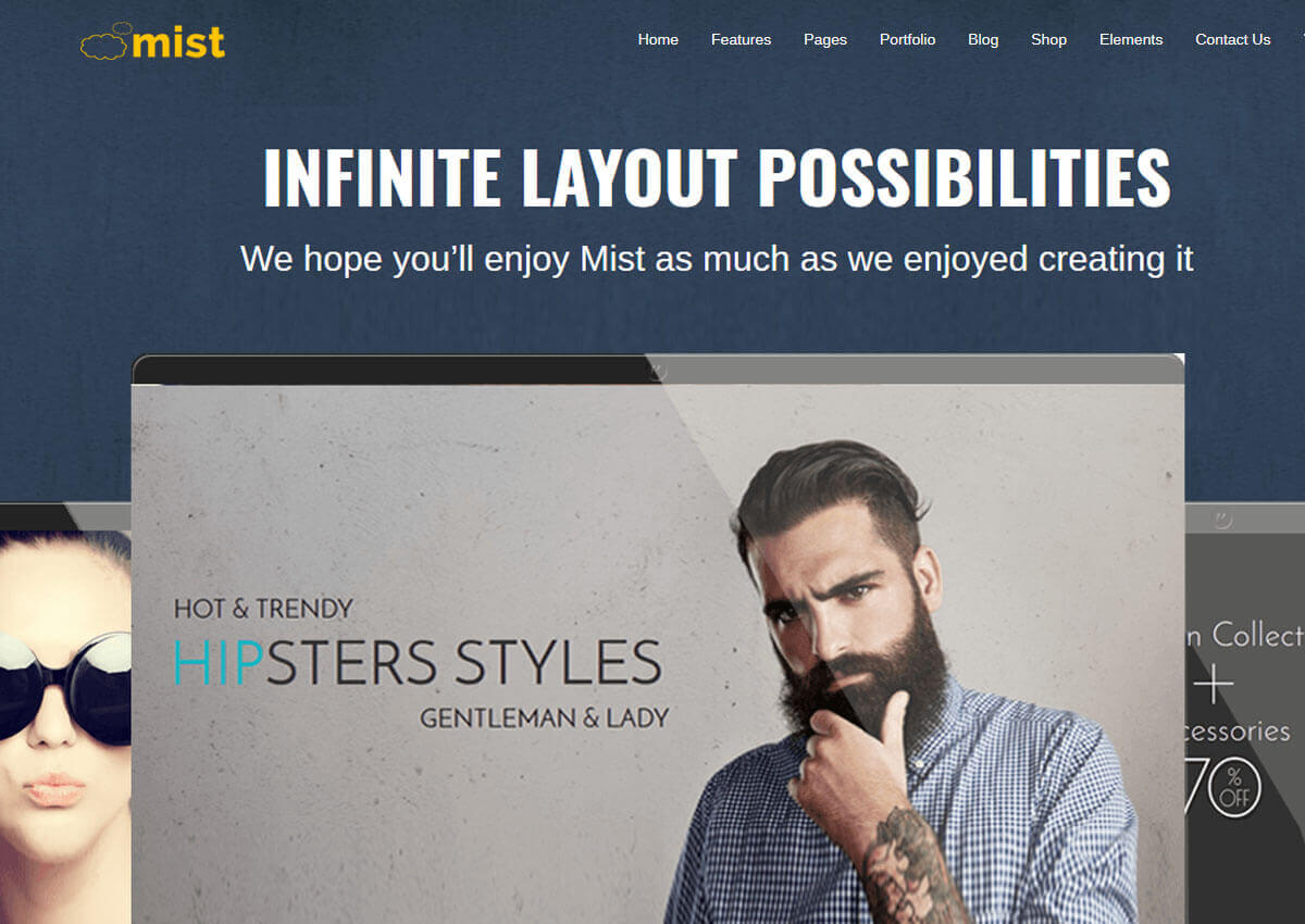 Mist WordPress Theme
