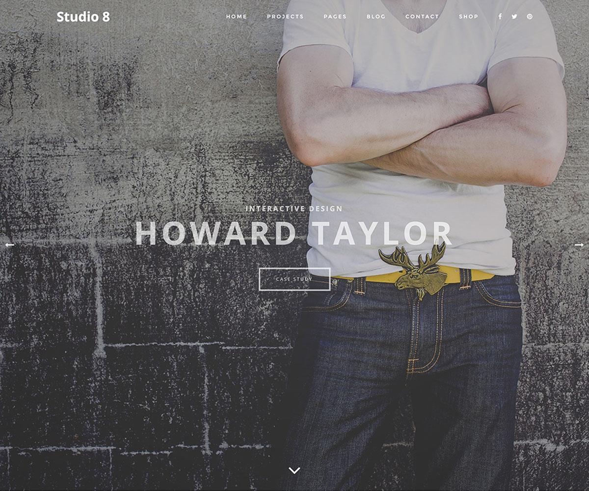 Studio8 Portfolio theme