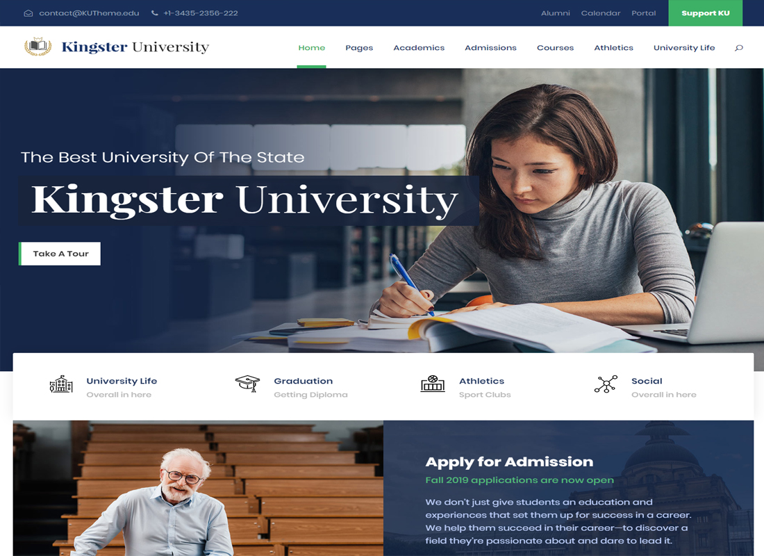 kingster WordPress Theme