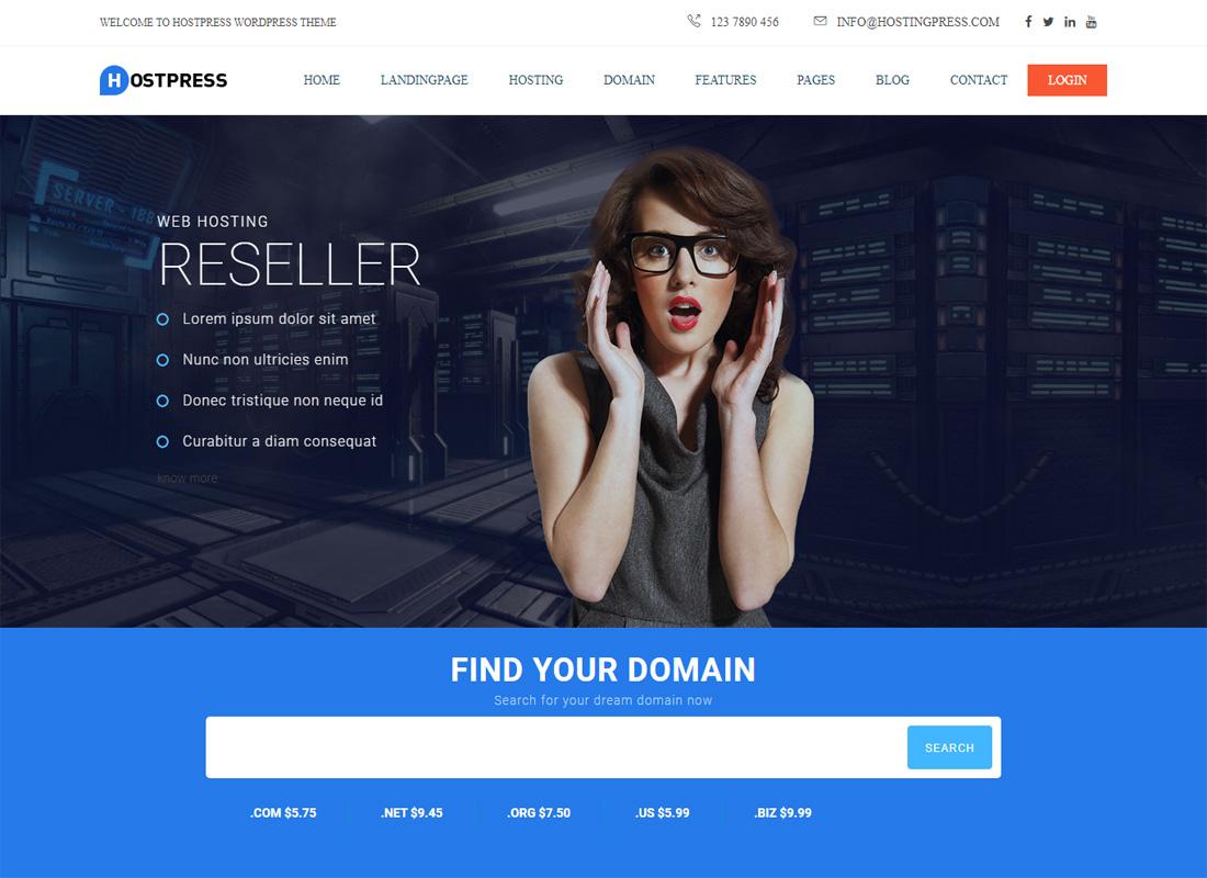 HostingPress Theme