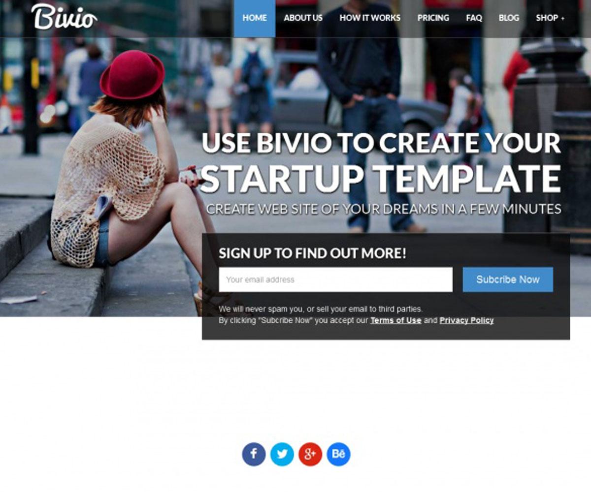 Bivio WordPress Theme
