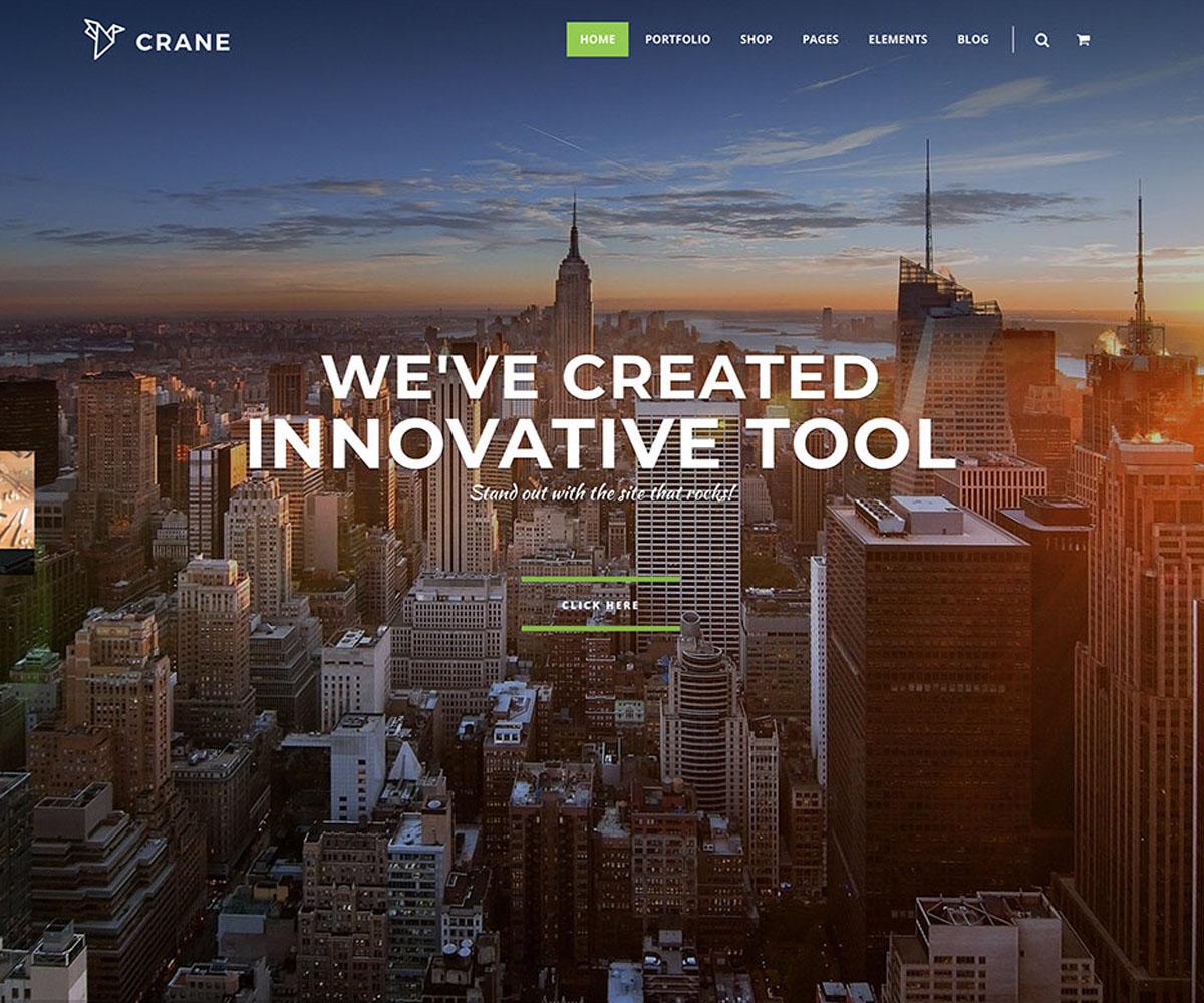 Crane WordPress Theme