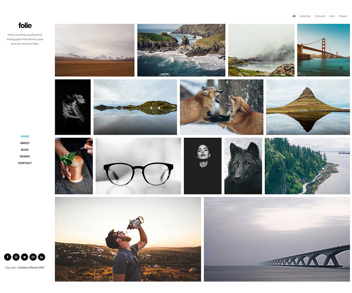 Folie WordPress Theme