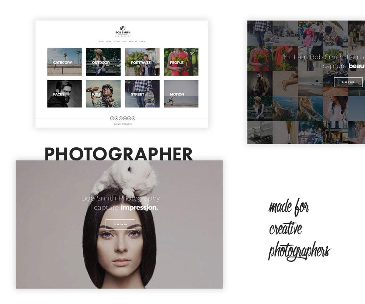 Photographer Theme