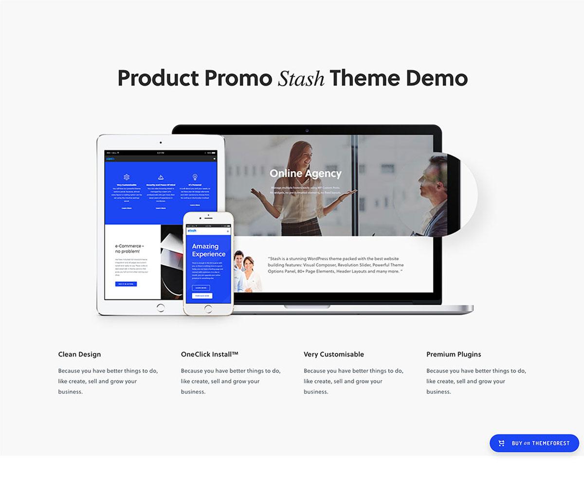 Stash WordPress Theme