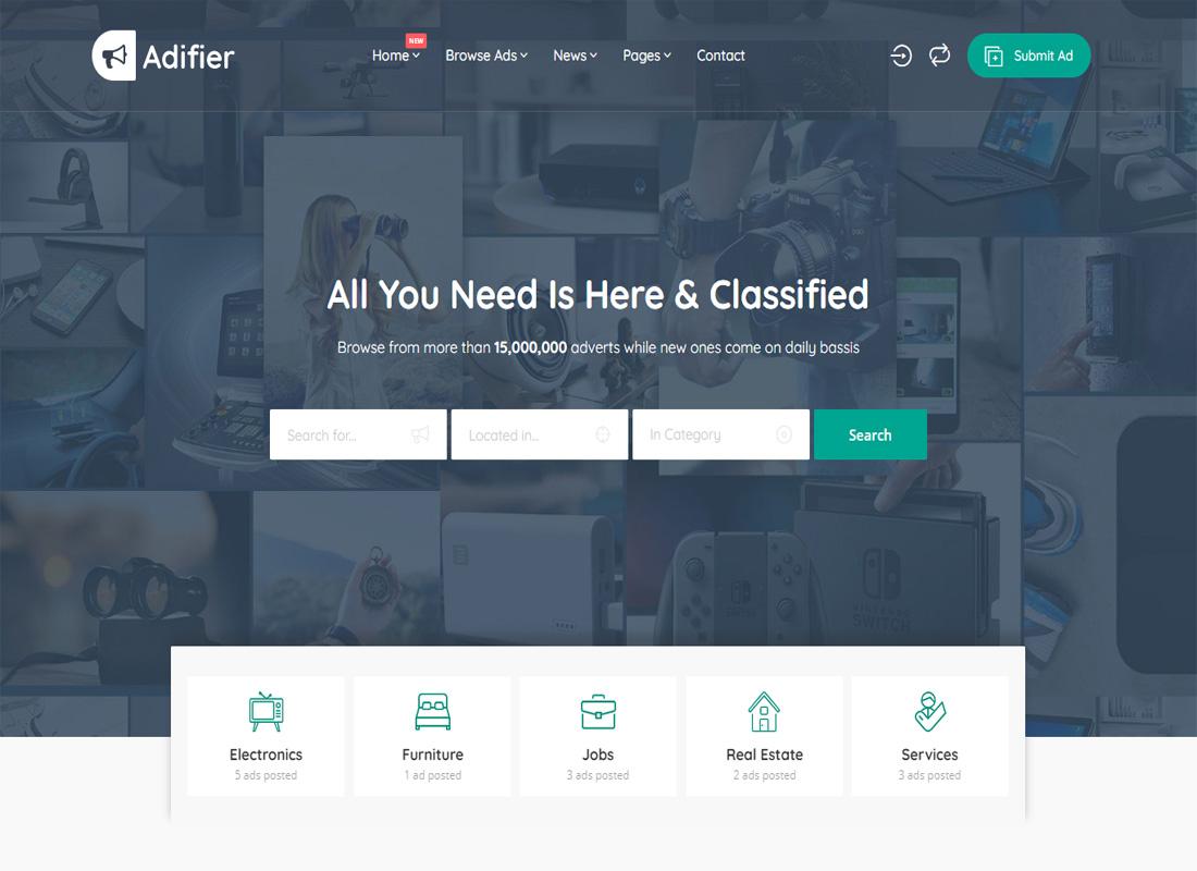 Adifier WP Theme