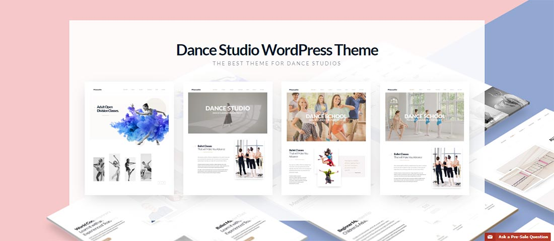 Dance Studio Theme