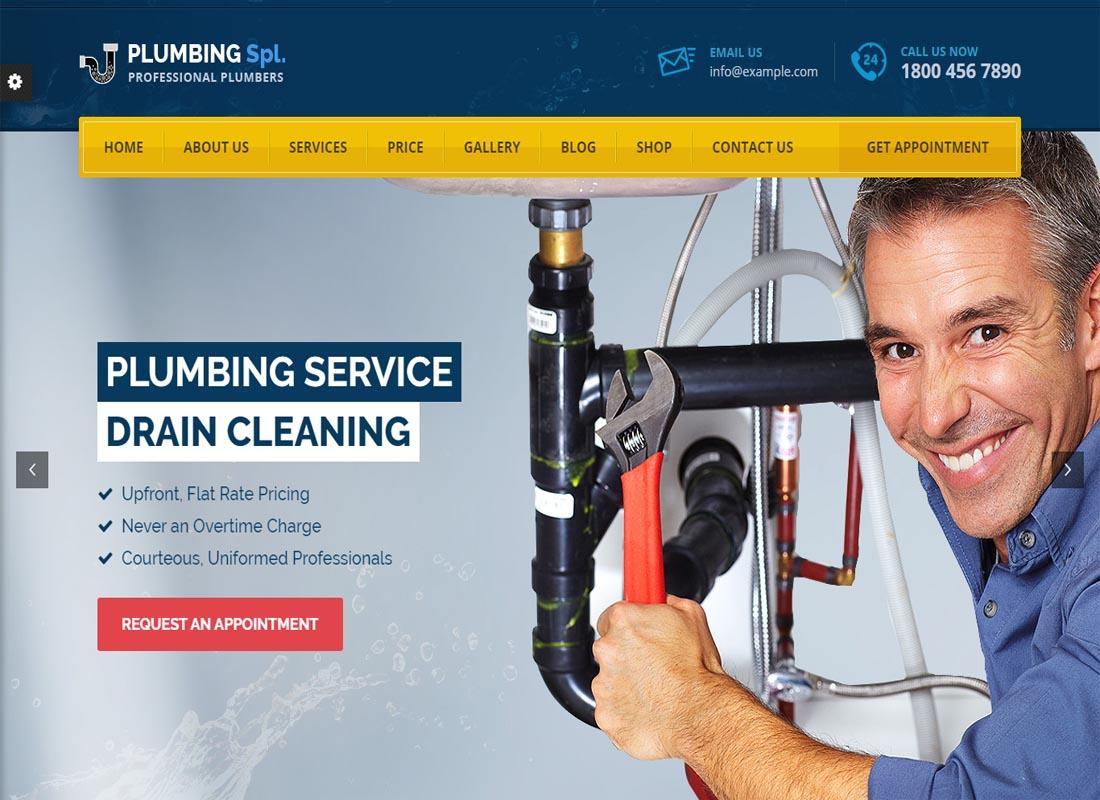 Plumbing SPL Theme