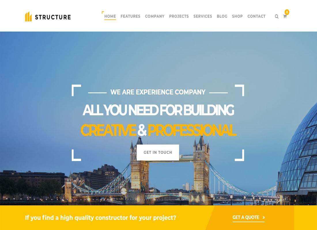 Structure Construction Theme