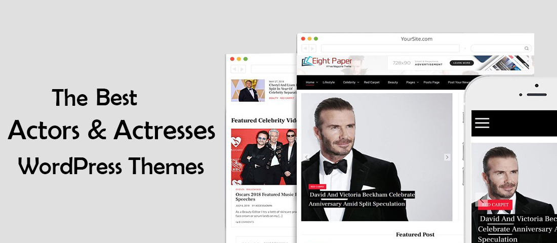 Actors WordPress Theme
