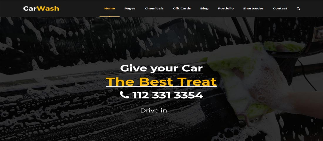 Car Wash & Services Themes
