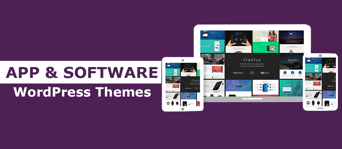 Mobile App & Software WordPress Theme