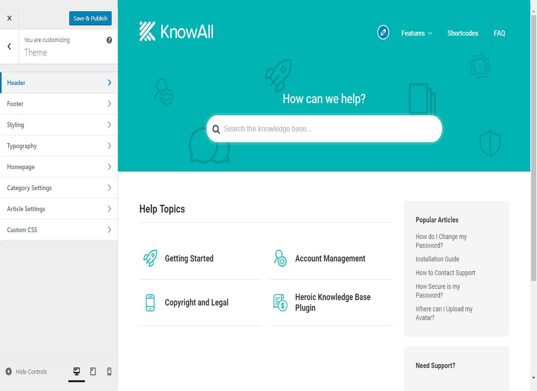 KnowAll Theme