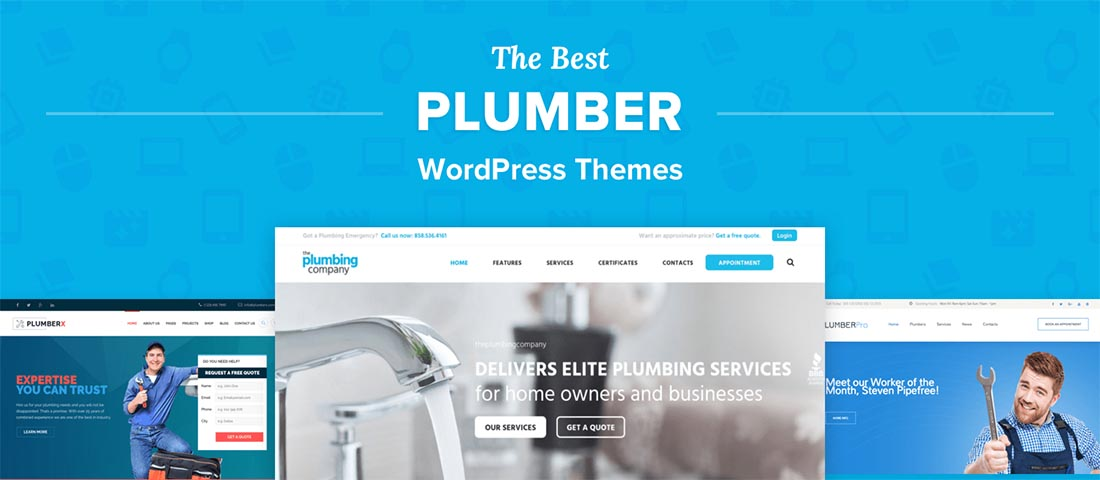 WordPress Plumber Themes
