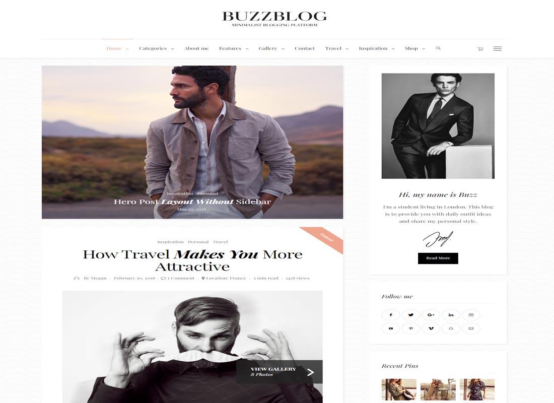 BuzzBlog WP Theme