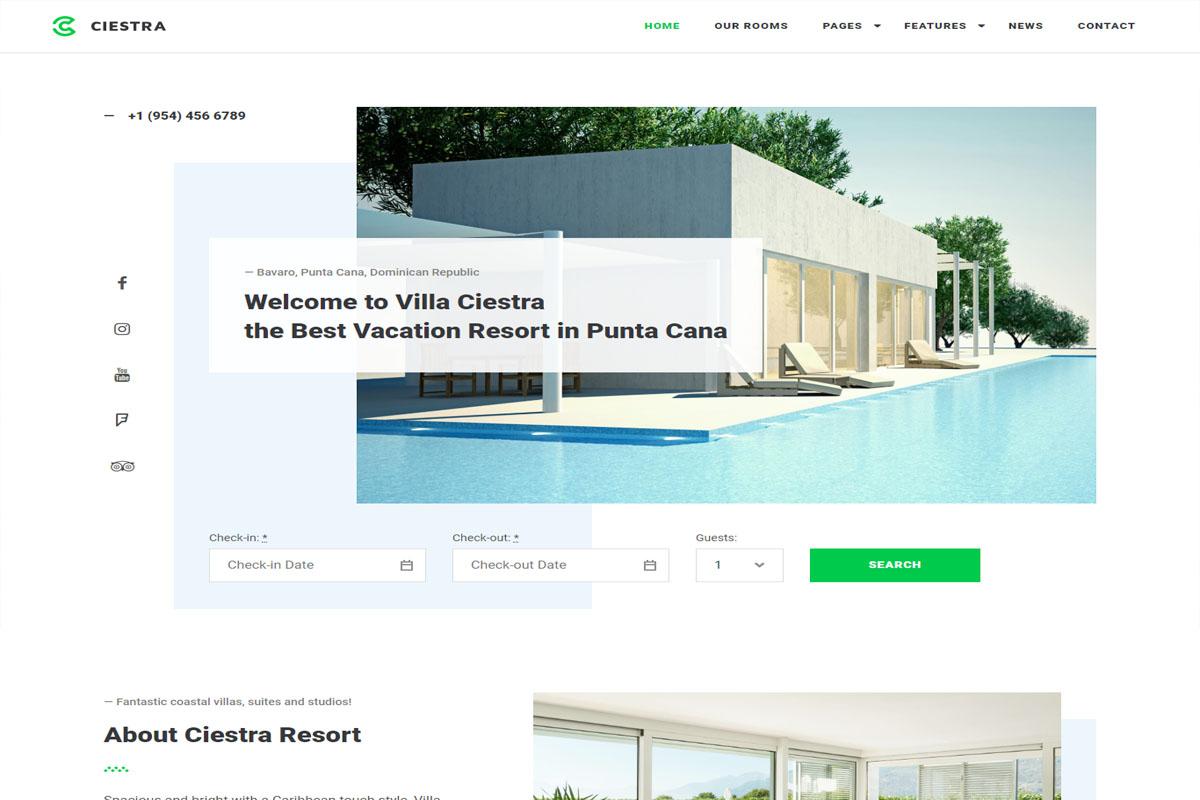 Ciestra WordPress Theme