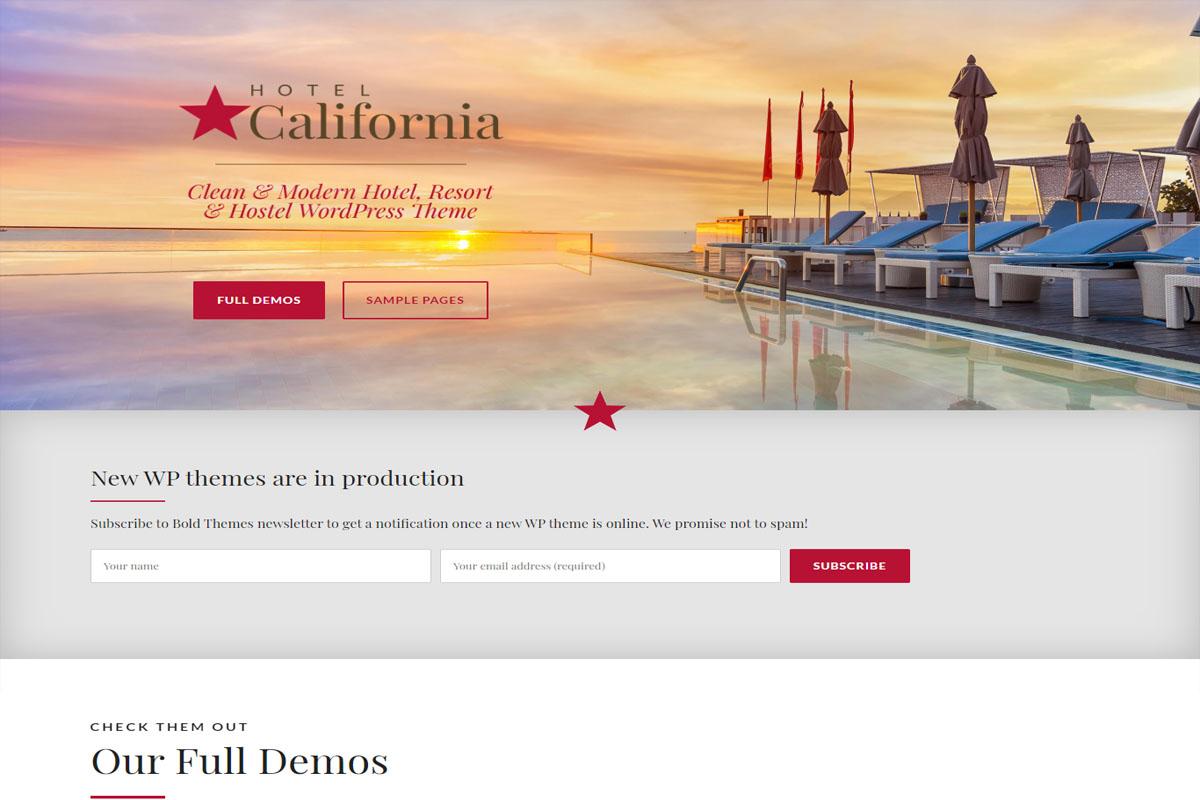 Hotel California Theme