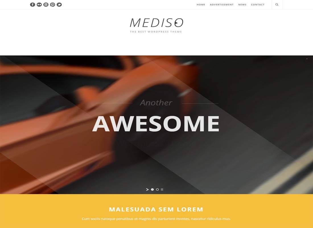 Mediso WordPress Theme