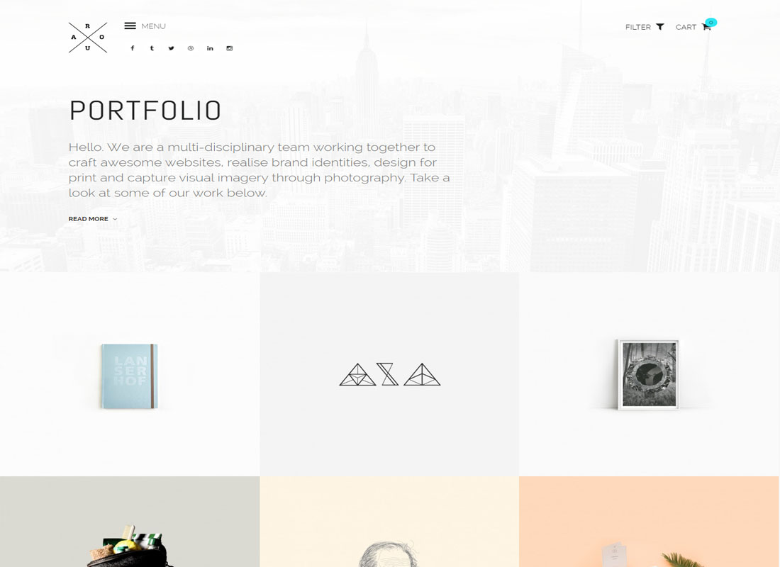 ROUA WordPress Theme