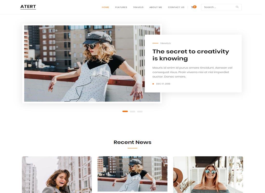 Atert WordPress Theme