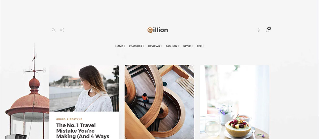 WordPress Minimalist Theme