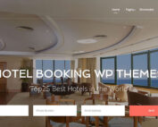 Hotel BookinHotel Booking WordPress Themeg WP Theme
