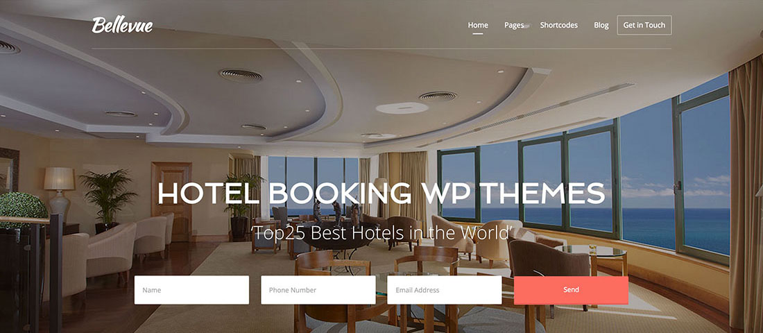 Hotel BookinHotel Booking WordPress Themeg WP Theme