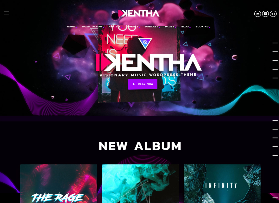 Kentha WordPress Theme