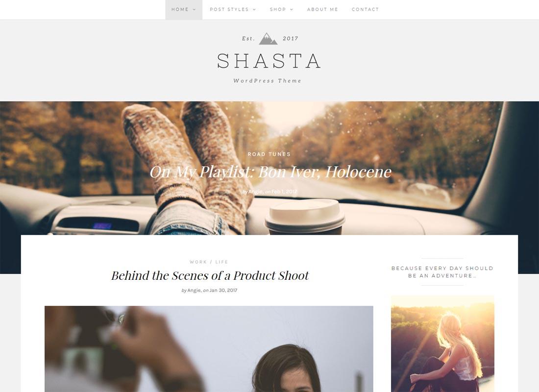 Shasta WordPress Theme