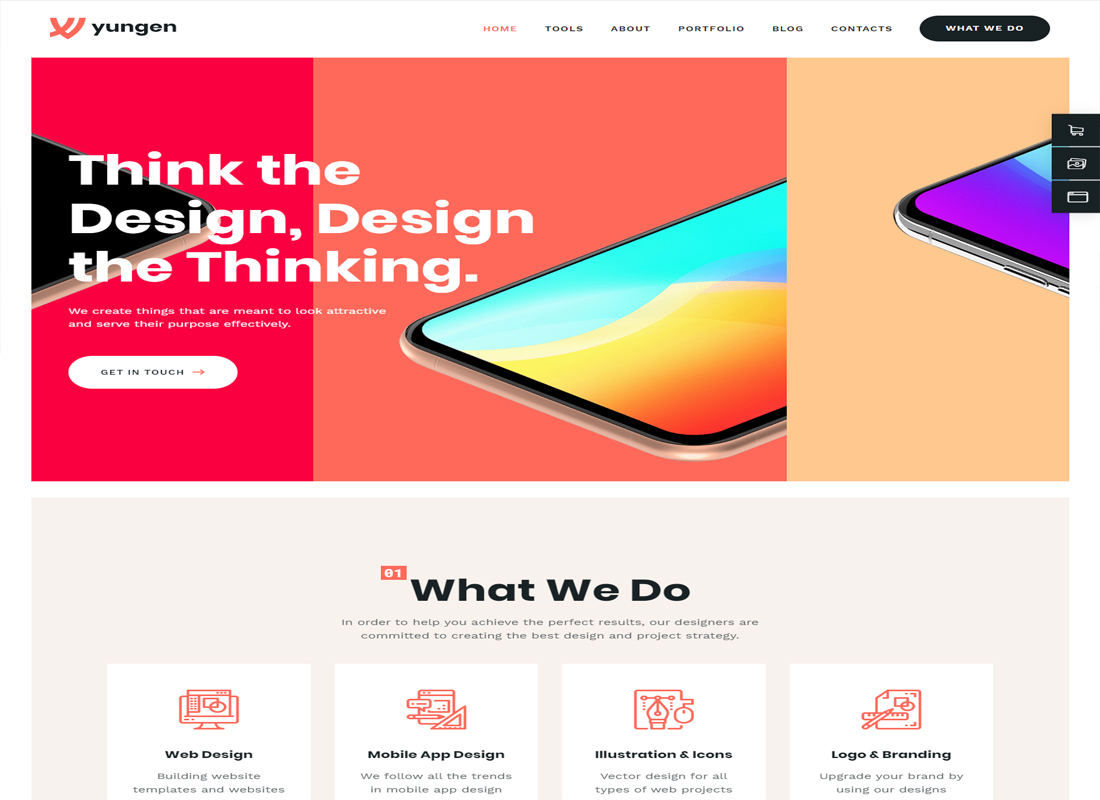 Yungen Marketing WordPress Theme