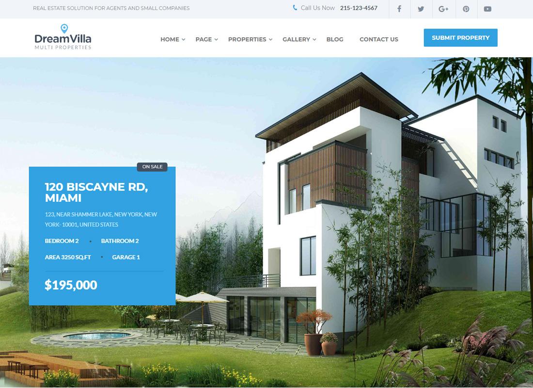 Dream Villa WordPress Theme