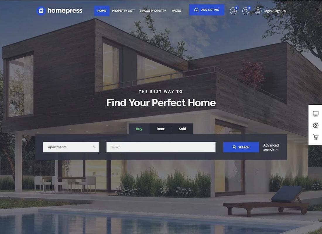 HomePress WordPress Theme