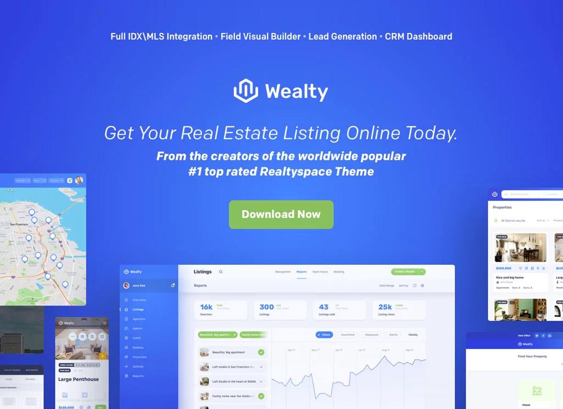Wealthy WordPress Theme