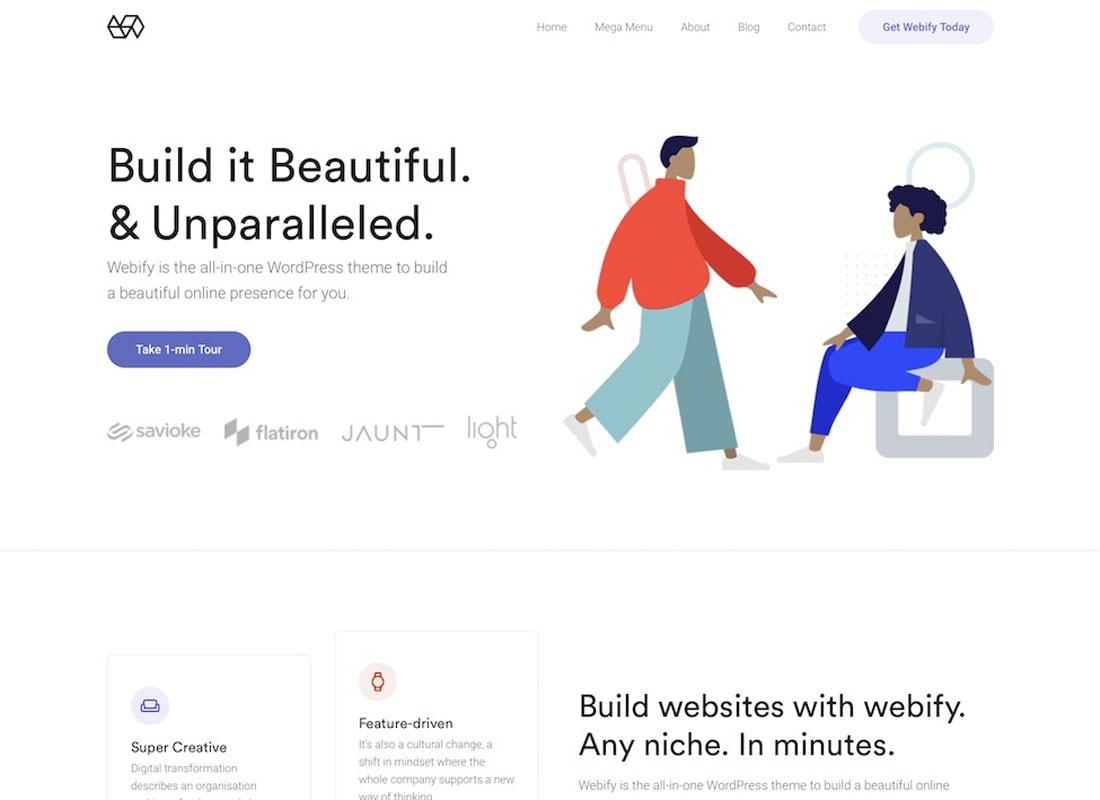 Webify WordPress Theme