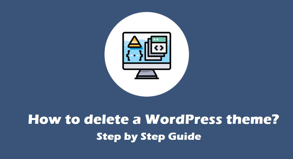 how to delete a wordpress theme