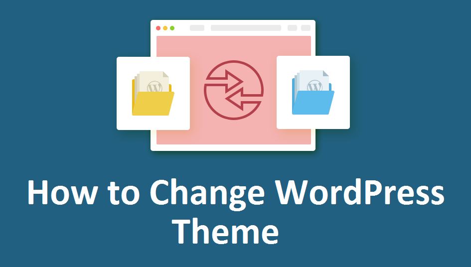 how to change wordpress theme